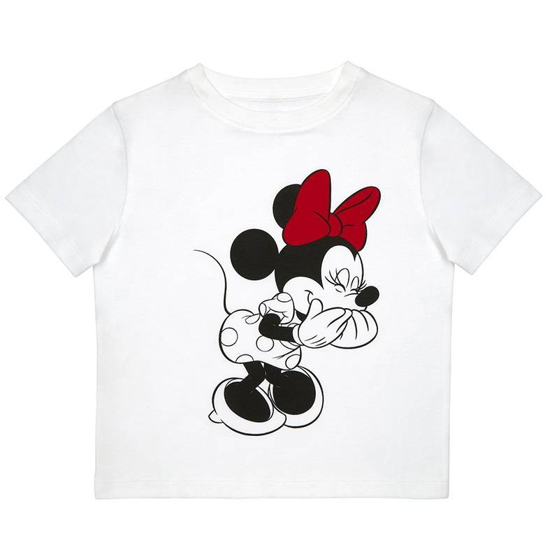 TK Maxx_Disney_Biala dziecieca koszulka Minnie_49.99_zl