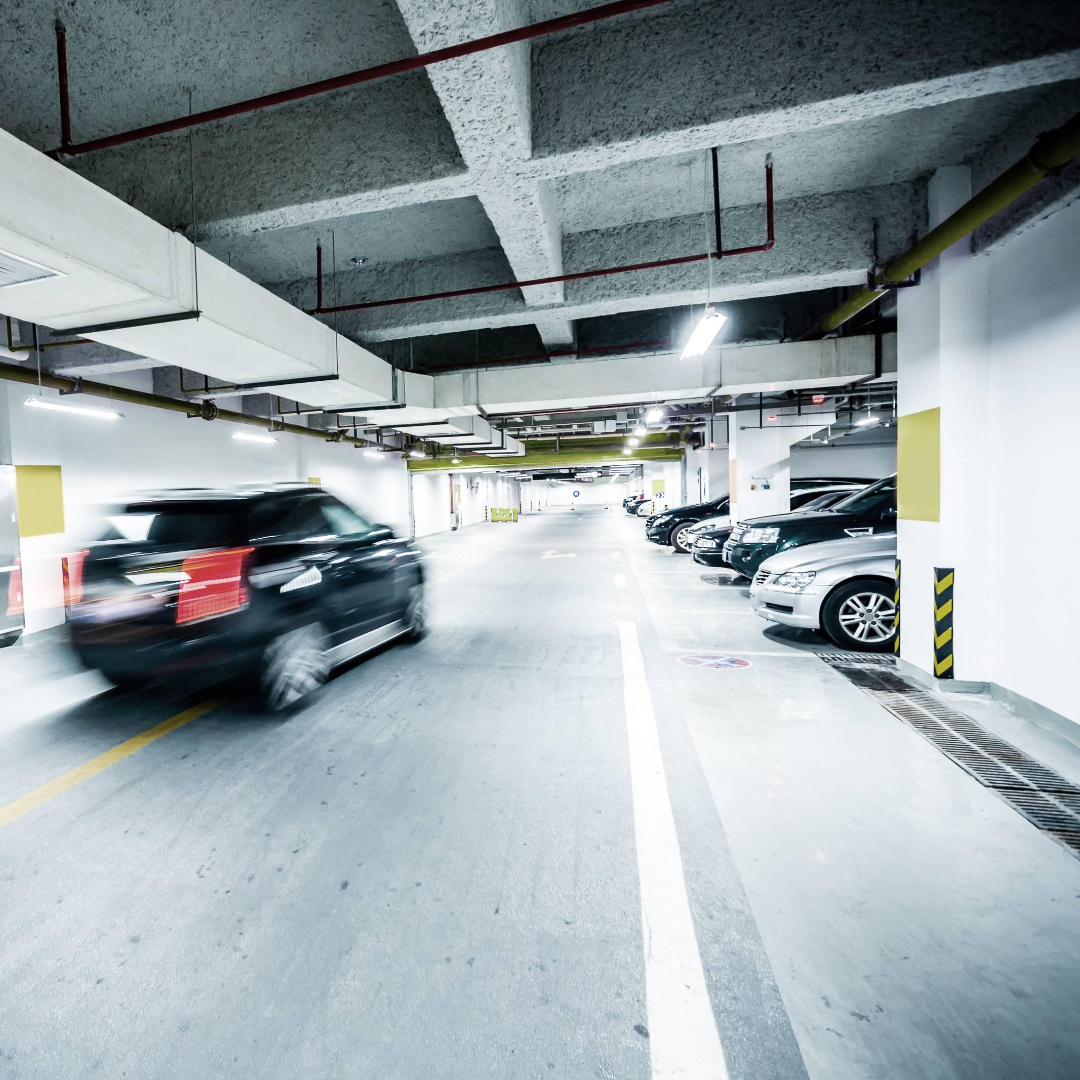 Underground,Parking,Garage